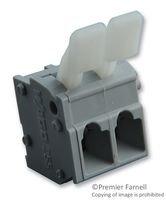 WAGO 255-402/333-000 TERMINAL BLOCK, PCB, 2POS, 28-12AWG (10 pieces)