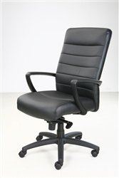 Manchester Leather Office Chair - Eurotech Manchester Leather Office Chair by Raynor