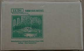 1000 Plain White Matches Matchbooks for Wedding Etc Wholesale Made in America ()