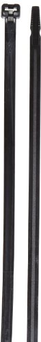 Black Barbed Cable Ties (Cable Tie with Stainless Steel Barb, 120 Tensile Strength, 14