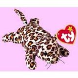 TY - McDonalds - Teenie Beanie Babies (1999) - US Edition - #1 Freckles the Leopard by Ty