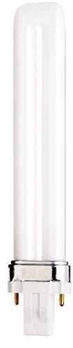 (Case of 25) Satco S8311 - CFS13W/835 13-Watt 3500K Single Tube 2-Pin GX23 Base T4 Compact Fluorescent Lamp