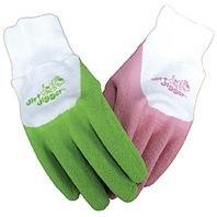 Boss Gloves 8401PB Dirt Digger Textured Grip Glove for Children Ages 9-12, Small, Pink