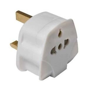 Generique 3760110680512 - Adaptador internacional, color blanco