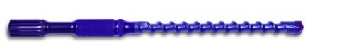Powers Fastening Innovations 01340 1/2-Inch by 13-Inch Spline Blue Carbide Wedge-Bit, 1 Per Box by Powers Fastening Innovations