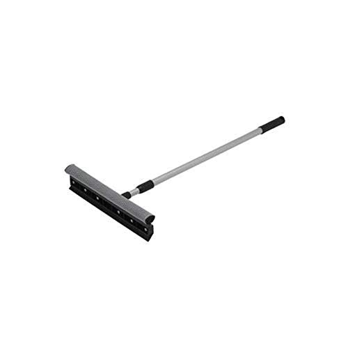 Winco WS-15 Window Squeegee with Telescopic Handle, 15-Inch