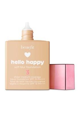 Benefit Cosmetics Foundation - Benefit Cosmetics Hello Happy Soft Blur Foundation Shade 3