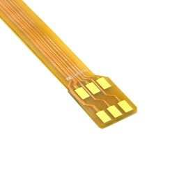 CableCC Micro SIM Card to Nano SIM Kit Male to Female Extension Soft Flat FPC Cable Extender 10cm by cablecc (Image #2)