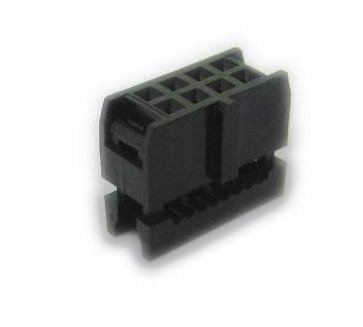 Pc Accessories - Connectors Pro 25-Pack 2X4 2.54mm 8 Pins Dual Rows IDC Socket for Flat Ribbon Cable, 8P FC Connector