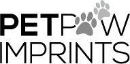 Bowl Pet Paw Print - Pet Paw Imprints Inkless Kit, Black