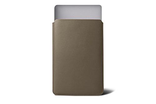 vachette Air de pouces MacBook Foncé lisse Marine Retina de protection Housse Lucrin Taupe pour 13 Bleu Display cuir P0w4X7qICx