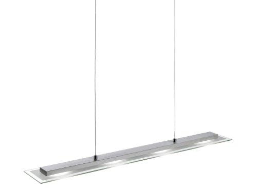 Leuchten Direkt Eckige LED-Pendelleuchte Danyl 15075-55