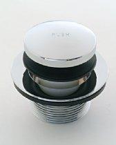 Satin Brass Standard Plumbing Supply Jaclo 529-SB Toe Control Drain Strainer
