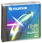 Fuji 3-Pack of 74-Minute CD-RW Discs (25301276) by Fuji