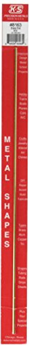 K&S Precision Metals 8163 Solid Brass Rod, 3/32