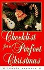 Checklist for a Perfect Christmas, Judith Blahnik, 0385482213