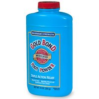 Gold Bond Medicated Foot Powder Triple Action 10 OZ (Pack of 3)