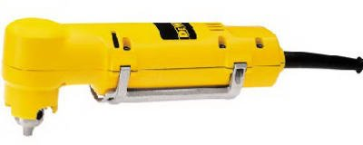 Black & Decker/Dewalt DW160V Right-Angle Drill, With Paddle Switch, 3.7-Amp, 0-1,200 RPM, 3/8-In. Keyless C - Quantity 4