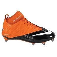06577ec3620 Nike Lunar Superbad Pro D Mid Football Cleat NFL Cincinnati Bengals