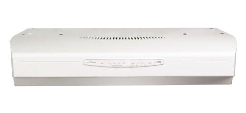 Broan QS330WW QS3 Series Range Hood, 30-Inch, White
