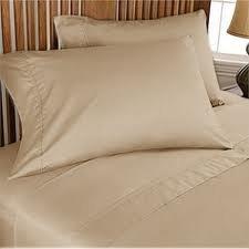 Full Sleeper Sofa Bed Sheet Set Taupe 500 Thread Count (54″x72″x6″)