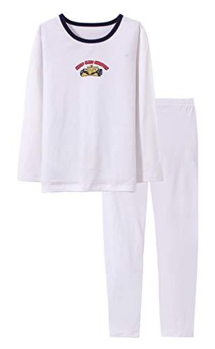 Boys Pajamas Racing Car Little Kids Pjs Sets Pure Cotton Toddler Sleepwears Children Clothes