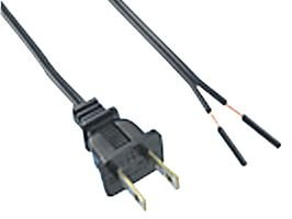 QUALTEK ELECTRONICS 221001-01 POWER CORD (50 pieces)