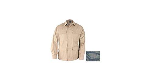 Propper Mens Genuine Gear BDU Coat 60C/40P Tiger Stripe 2XL Reg (Jacket Stripe Tiger Bdu)