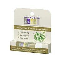 Aura Cacia: Aromatherapy Purifying Eucalyptus Stick, 0.29 oz (3 pack) (Aromatherapy Stick Purifying Eucalyptus)