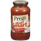 Prego Italian Sauce 100% Natural Heart Smart Traditional - 12 Pack