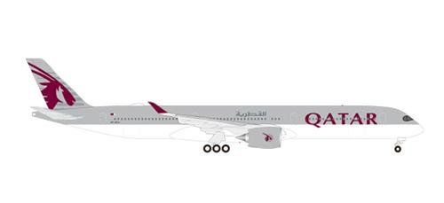 Qatar Airlines - Herpa Wings 531597 Qatar Airways Airbus A350-1000 1/500 Scale Diecast Model