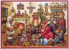 Adventskalender, Familie Bär feiert Weihnachten
