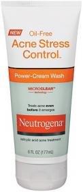 Neutrogena-acné sans huile stress Power Control-Crème lavante, 6 once