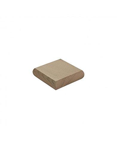 Flat Newel Post Cap For 90mm Newel Posts (Full, Oak) Blueprint Joinery LTD
