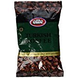 Elite Turkish Coffee With Cardamom Roasted And Set 3.5 Oz. Pk Of 3.