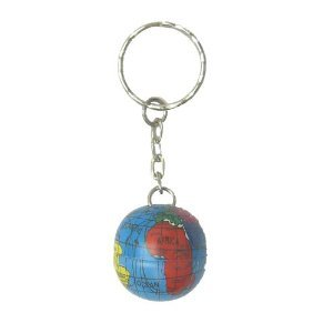 World globe metal keyring amazon kitchen home world globe metal keyring gumiabroncs