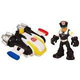 Playskool Heroes, Transformers Rescue Bots Figure, Billy Blastoff and Jet (Rescue Jet)