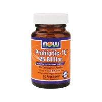 NOW Foods Probiotic-10, 25 Billion
