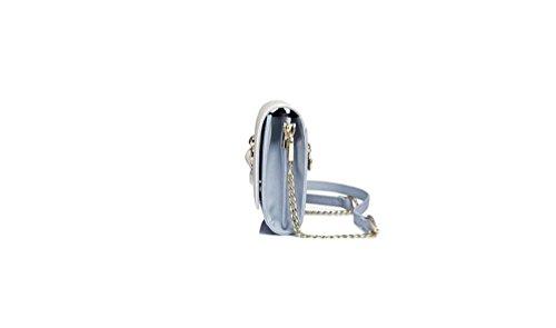 powder bag bag GMYAN casual shoulder slanting female mini bag tide blue single out Ladies hollowed chain fashion YrzwYHZ