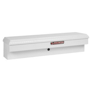 WEATHER GUARD 174301 Gloss White Aluminum Low-Side Short Tool Box