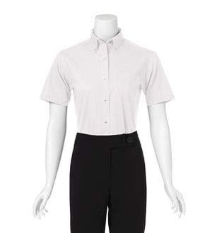 Van Heusen Ladies' Short Sleeve Easy Care Oxford (White) (XL)