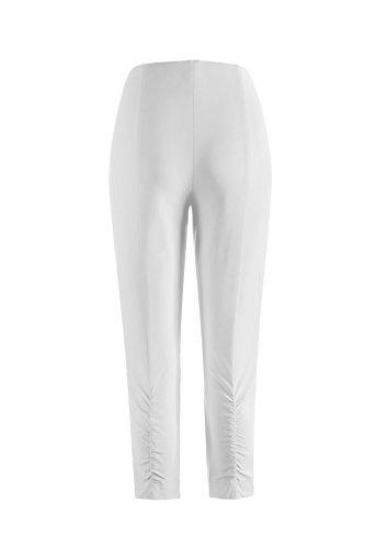 Stehmann - Pantalones para Mujer Blanco