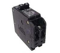 Amp Tandem Circuit Breaker - Eaton Corporation Bd1515 Single Pole Tandem Circuit Breaker, 120V, 2-15-Amp