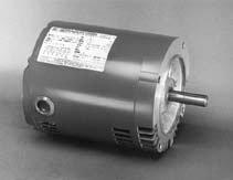 Marathon KG215 56C Frame Open Drip Proof 5K35FN55 Oil Burner Motor, 1/3 hp, 3600 RPM, 208-230/460 VAC, 3 Phase, 1 Speed, Ball Bearing, C-Face