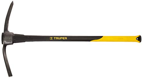Truper 31614 5-Pound Pick Mattock with 36-Inch Fiberglass Handle (Garden Digging Tools)