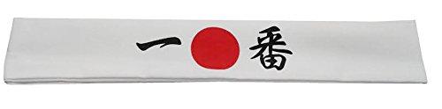 Japanese Band Rock - White Headband