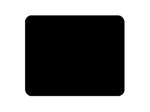 OVVO Mouse pad creativo di Portabl Tappetino per mouse impermeabile in silicone antiscivolo per mouse (nero)