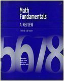 img - for Math Fundamentals: A Review book / textbook / text book