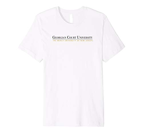 Georgian Court University Lions NCAA T-Shirt PPGCTU07 ()