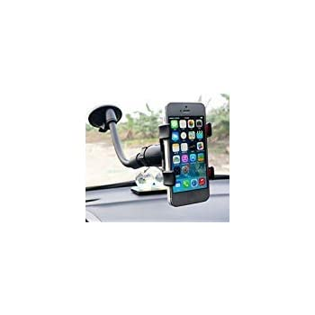 Car Windshield Mount Holder Stand Bracket for Cell Phone iPhone GPS Devices Navigation Soporte para Celulares